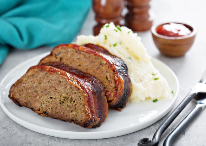 Elk-meat-meatloaf
