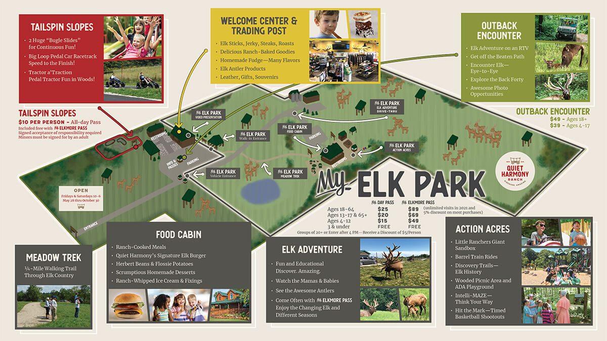 Quiet Harmony Elk Ranch Map